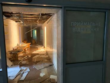 Офіційні подробиці про сьогоднішню пожежу у міській лікарні м.Ужгород