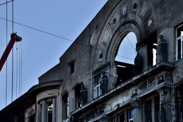 Сьогодні вночі кількість загиблих у пожежі в Одесі збільшилася до 12 людей