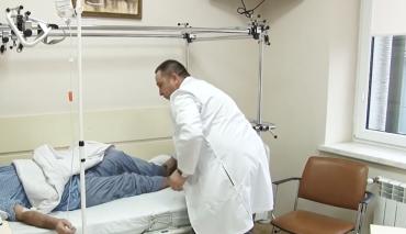 В Закарпатті вперше провели ортопедичну операцію, якої потребує велика кількість українців