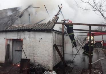 Приватний будинок вигорів на Закарпатті