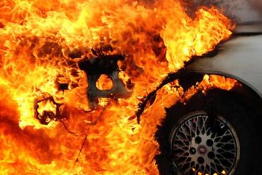 """Вогняним Феніксом у небо """"піднялася"""" новенька іномарка вартістю не менше 90 тисяч доларів!"""