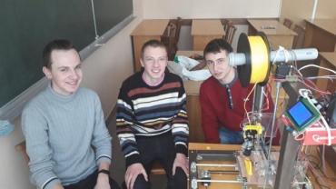 На Закарпатті студенти створили 3D-принтер власної оригінальної конструкції