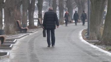 В Ужгороді ожеледь послав в лікарні понад півсотні людей
