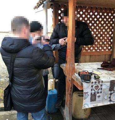 """Государственный охранник лесов Закарпатья за взятку продавал срубленные """"левые"""" дубы!"""