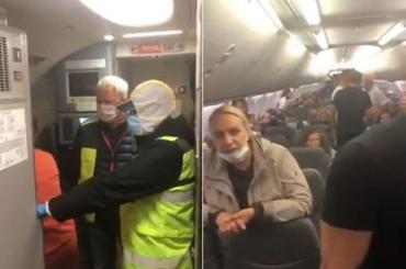 """Повний """"бєзпрєдєл""""! Українців із Балі на київському летовищі відмовляються випускати з літака"""