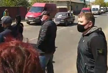 Акція протесту на Закарпатті — люди вимагають дозволити їм працювати