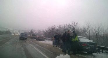 В Закарпатье на трассе масштабное ДТП с участием 5 автомобилей