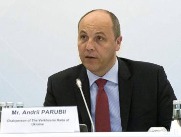 """Парубий назвал Путина """"международным преступником"""""""