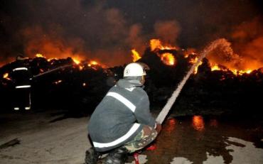 Пожар на Запорожском железорудном комбинате: спасатели рассказали подробности