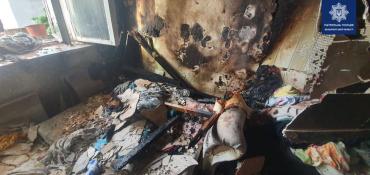 Эвакуировали детей и людей: В Ужгороде утром пылала квартира 5-ти этажке
