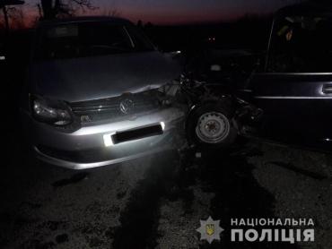 В Закарпатье аварию, где машины столкнулись в лоб лоб, вызвал пьяный угонщик