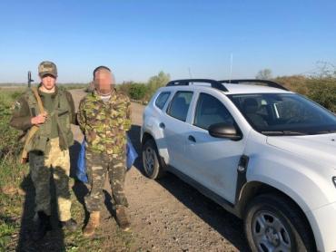 В Закарпатье возле границы задержали беглеца, которого бросил партнер