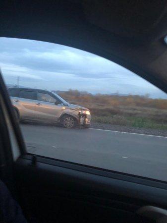 В Мукачево под вечер произошло ДТП с участием внедорожника