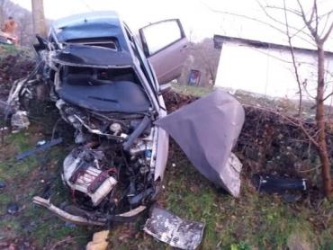 Роковое ДТП в Закарпатье: Автомобиль разбился вдребезги об автобусную остановку, погибла молодая девушка
