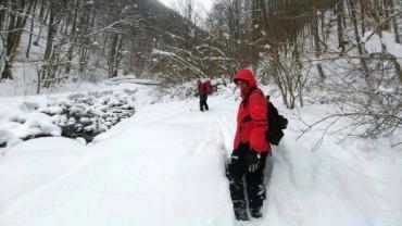 В Закарпатье группа туристов нашла себе опасные приключения на пятую точку