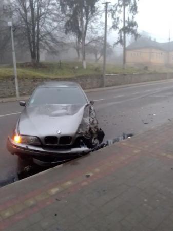 ДТП в Закарпатье: Состояние БМВ оставляет желать лучшего