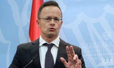 Петер Сийярто завтра прибудет Украину с рабочим визитом