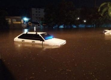Мощный ливень обрушился на Одессу