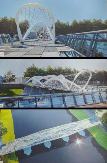 Реконструкция пешеходного моста в Ужгороде вызвала бурный скандал среди горожан