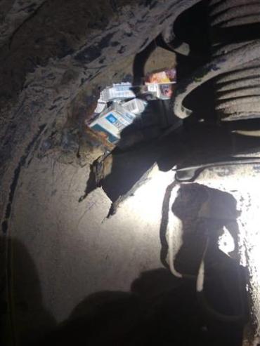 Украинскому водителю пришлось попрощаться с автомобилем в Закарпатье