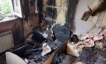 Огонь уничтожил областной Центр социально-психологической реабилитации детей в Закарпатье