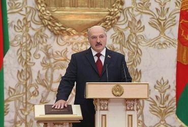 Во Дворце Независимости в Минске прошла инаугурация президента Беларуси