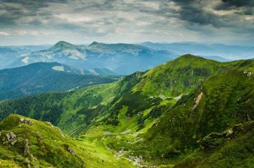 В Закарпатье гора Драгобрат лишает своей красотой дара речи