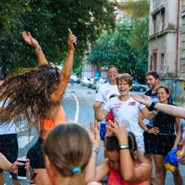 В Ужгороде состоялся сакуровый марафон - 2021