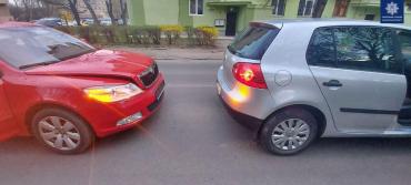 В Ужгороде за два часа произошло 2 аварии