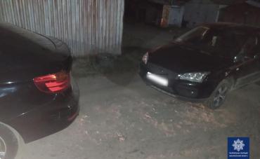 В Ужгороде неадекватный водила спровоцировал ДТП с BMW