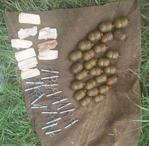 В Ужгороде на Радванке нашли склад с гранатометами и гранатами