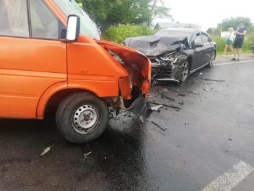 Международная трасса из Киева в Чоп стала местом дорожного происшествия с кучей жертв