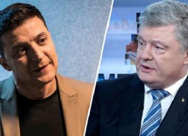 Владимир Зеленский объявил о начале распространения билетов на дебаты с Порошенко