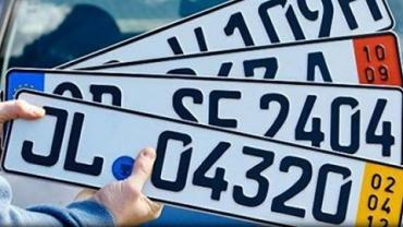 Использование авто на еврономерах в Украине полностью законно