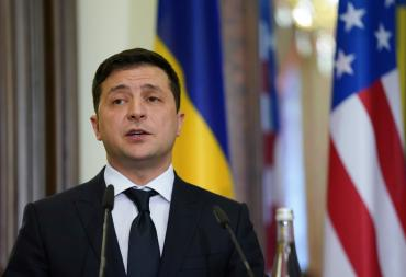 Zelensky faces a political future that is no laughing matter