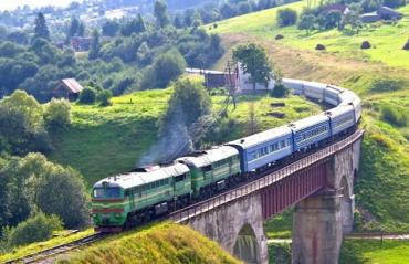 """На Закарпаття курсуватиме """"туристичний"""" потяг із прифронтової Луганщини"""