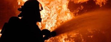 В одному з районів Закарпаття горіли лісоматеріали та дрова — полум'я було ще те!