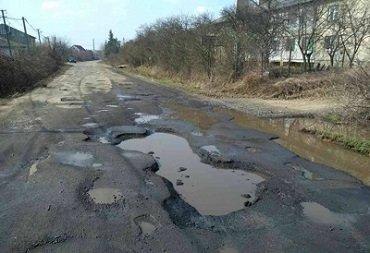 Дороги Закарпатья находятся в ужасном состоянии