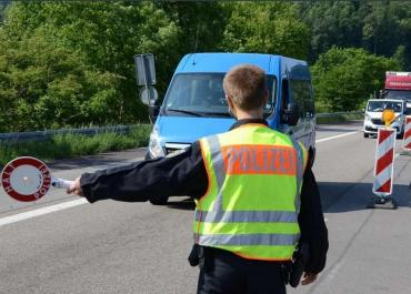 В Германии задержали бус с девятью контрабандистами из Украины