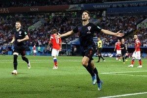 Хорватия оказалась точнее в послематчевой серии пенальти