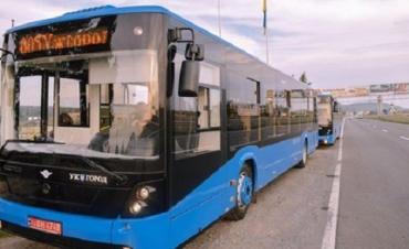 Как будет ходить автобус № 5 с площади Корятовича в Ужгороде
