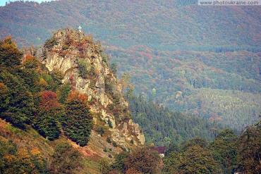 Закарпаття. «Скелі закоханих» на Рахівщині