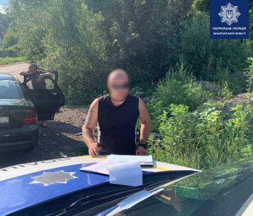 В Ужгороде на объездной полиция вручила водителю штраф размером с 71 тысячу гривен