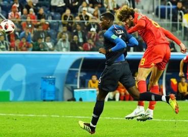 Франция обыграла Бельгию - 1:0