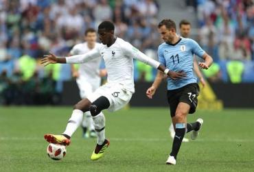 Франция - Уругвай 2:0