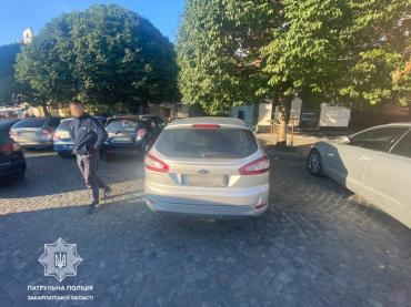 В Ужгороде нужны люди, ставшие свидетелями неприятного поступка на площади Петефи