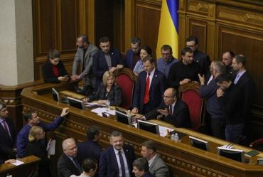 Агония Верховной ЗРады Порошенка-Яценюка продолжается