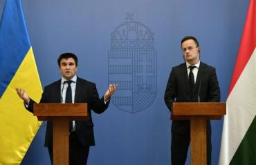 В Закарпаття їдуть два міністри МЗС — Клімкін і Сійярто
