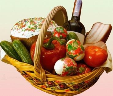 За год пасхальная корзина в Закарпатье подорожала на 15%