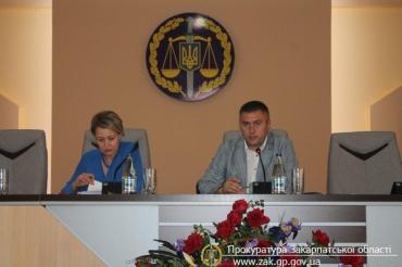 У прокуратурі Закарпаття обговорили міжнародно-правове співробітництво у кримінальних провадженнях